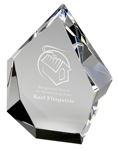 Iceberg Optical Crystal Award