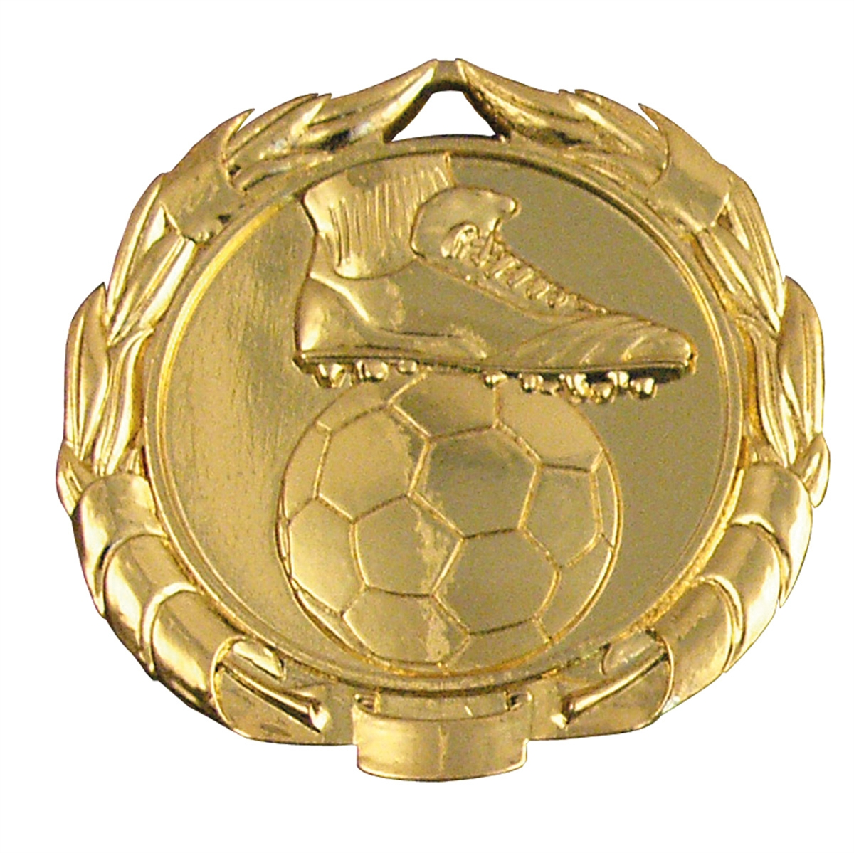 Beautiful Boot & Football in Wreath 45mm Medal 63801 ...
