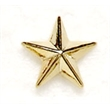8mm Metal Star