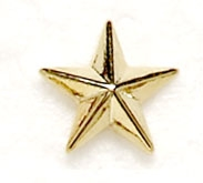 12mm Metal Star
