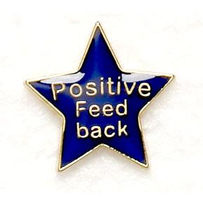 Positive Feed Back Star Badges