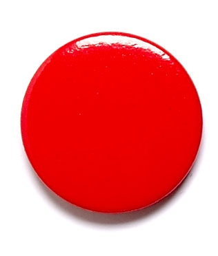 Red Round Pin Badges