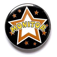 Monitor Pin Badge
