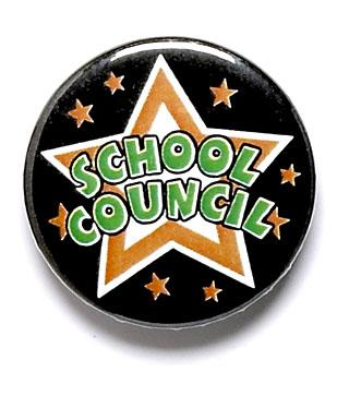 School Council Star Pin Badge