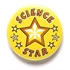 Science Star Pin Badge BA046