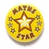 Maths Star Pin Badge BA048