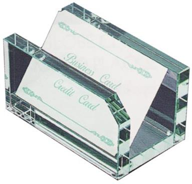 Jade Glass Card Holder