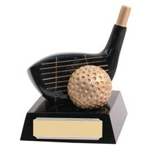 Golf Club & Ball Trophy