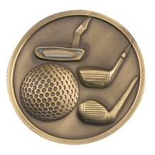 Golf Medallion
