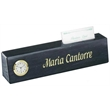 Black Marble All-in-One Name Plate