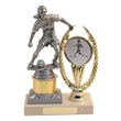 Football Action Female Figure Trophy