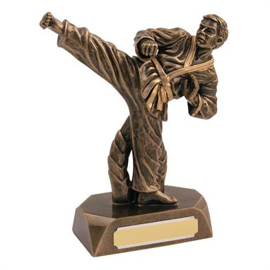 Karate Action Figure Trophy