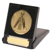 Cricket Medallion Gold