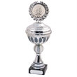 Darts Silver/Grey Bowls Trophy