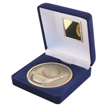 Longest drive Golf Medallion