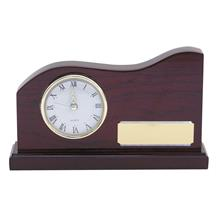 Wave Wood Clock