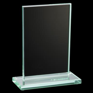 Jade Collection Glass Plaque In Four Size