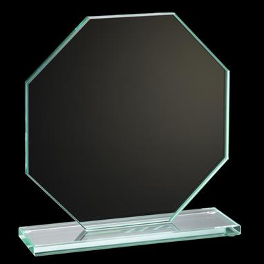 Jade Collection Peak Glass Plaque