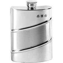 Pewter 6oz Hip Flask