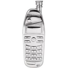 Pewter Mobile Phone Flask