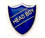 School Head Boy Metal Badge