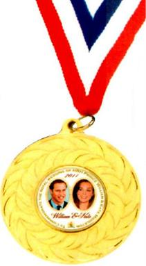 Royal Wedding Medal Gift