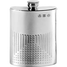 6oz Pewter Rennie Macktintosh Hip Flask