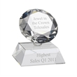 AC151 Engraved Optical Crystal Diamond Award