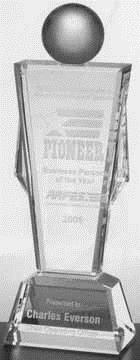 Conqueror Optical Crystal Award