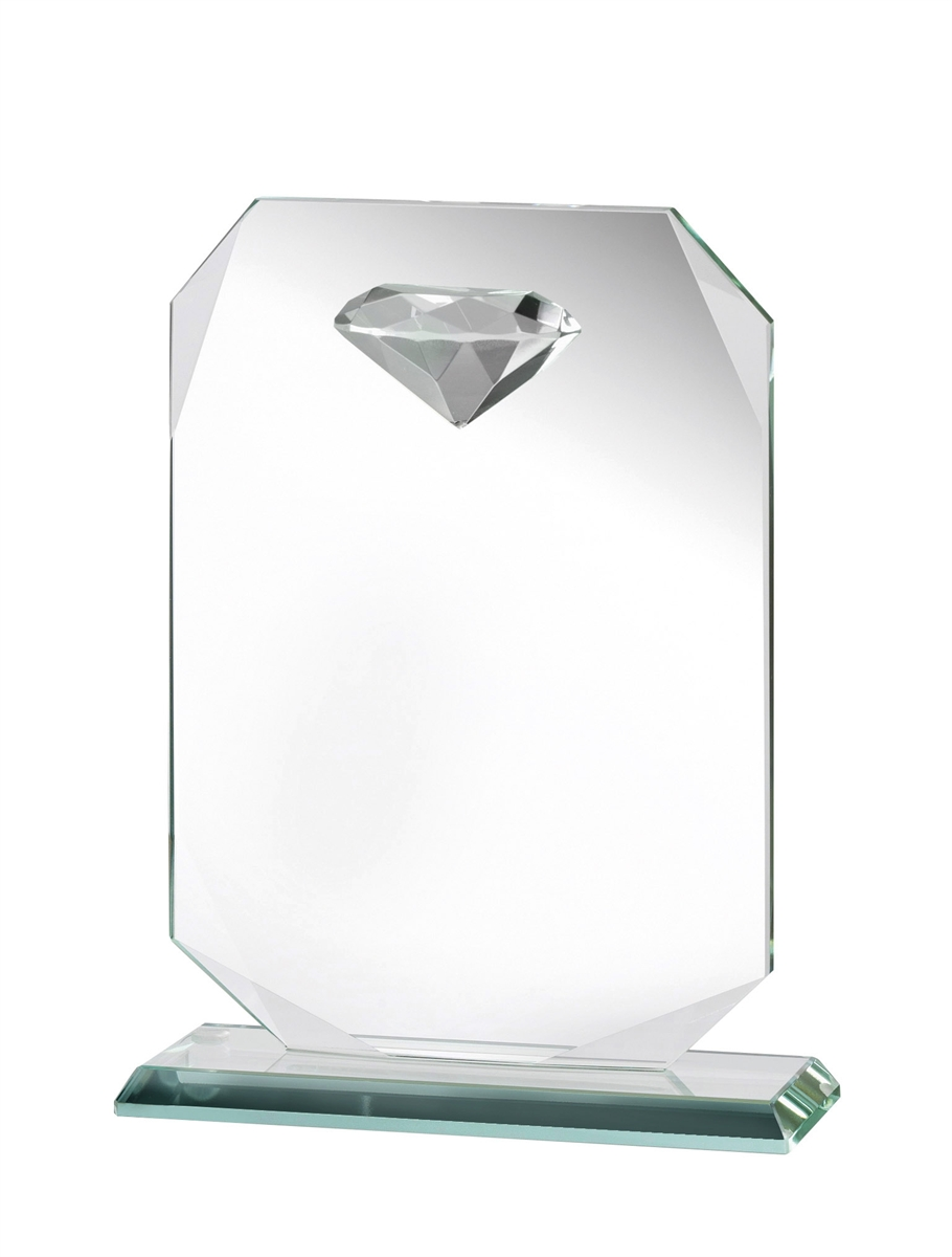 JOG025 Diamond Jade Glass Award