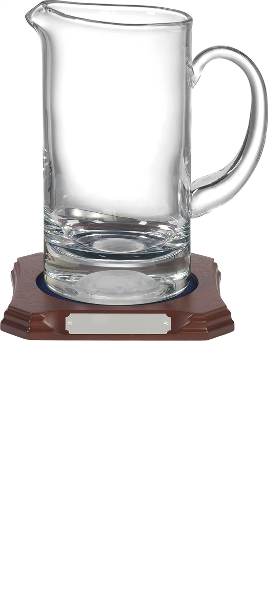 K012 Crafted Crystal Golf Jug