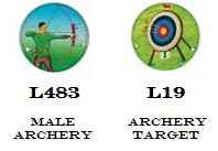 Archery Medal Trophy Centres