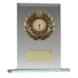 JC003 Jade Glass Centre Holder Trophy