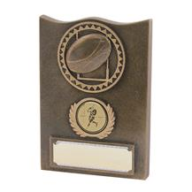 TB64-425 Rugby Trophy Plaque
