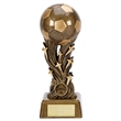 A1353C Antique Gold Galaxy Football Trophy