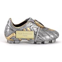 A1305S Silver Premier Football Boot