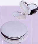 Oyster Mirror and Pill Box