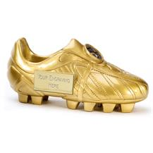 A1391 Golden Boot Resin Football Trophy