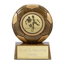 A1339 Resin Mini Football Trophy