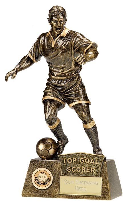 A1090C-01 Top Goal Scorer Football Trophy