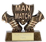 Man of the Match Football Trophies