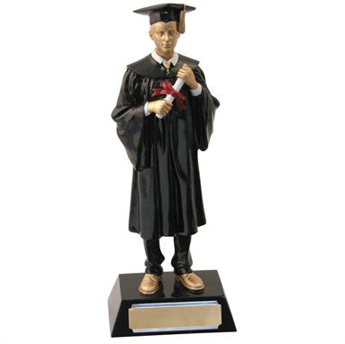 TB27-645 Male Graduation Trophy