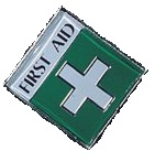 First Aid Badges