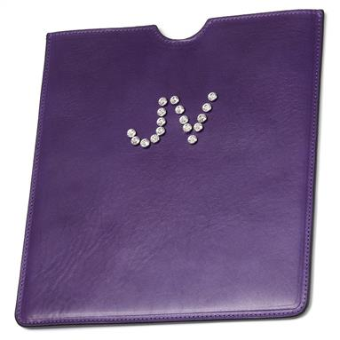 Swarovski Crystals iPad Cover Personalised