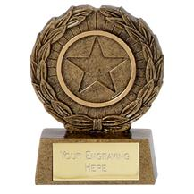 Wreath Resin Trophy A1335