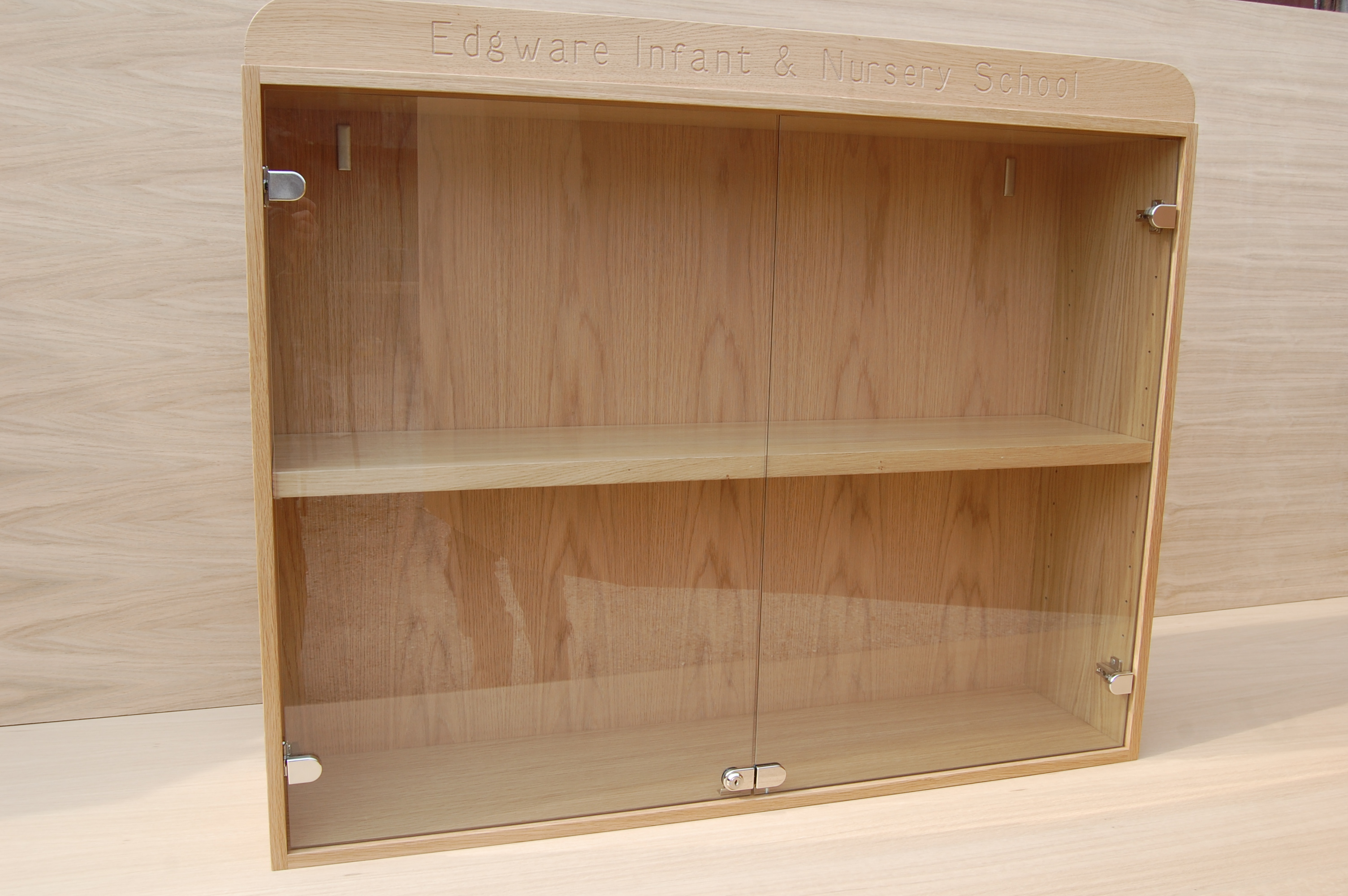 Wallfixed Trophy Cabinet For Schools And Clubs Cabinets Showcases Trophiesandmedals