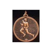 Hot stamped Bronze Medal - Running man with ball