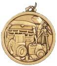 Hot Stamped Bronze Medal - Photography