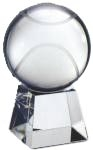 Optical Crystal Tennis Ball with Clear Base