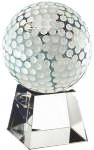Optical Crystal Golf Ball with Clear Base